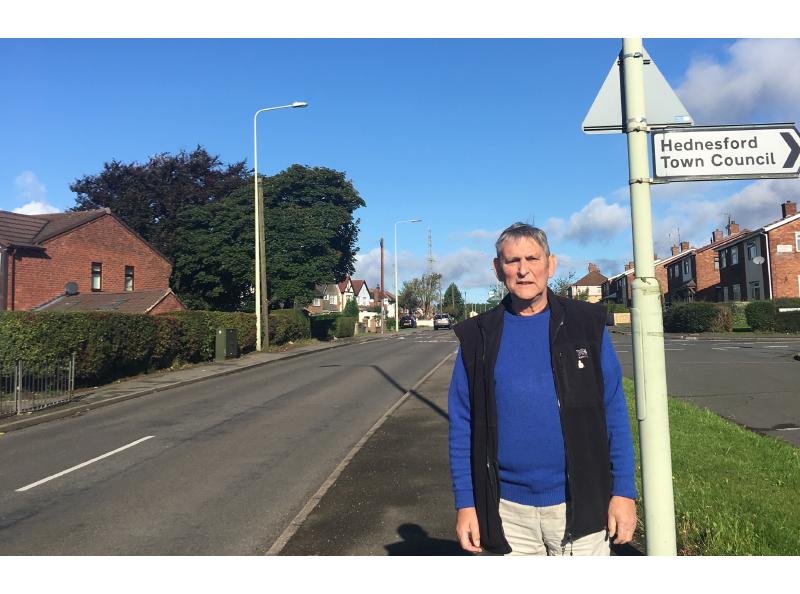 Hednesford Town Councillor Brian Gamble
