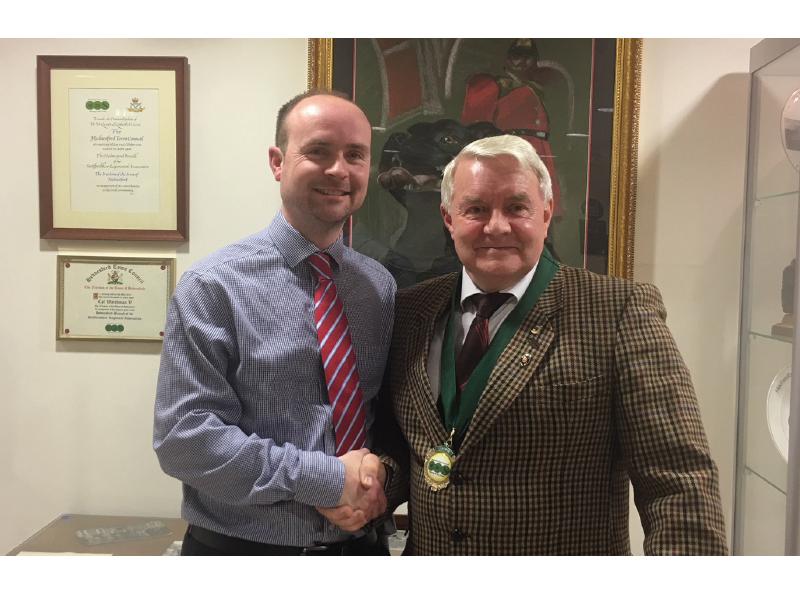 Hednesford Town Councillor Matthew Davis